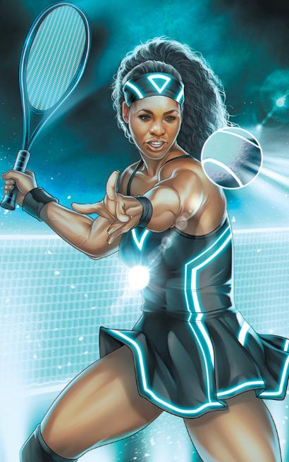 ESPN MARVEL Serena Williams